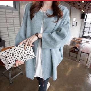 韓版 款針織外套