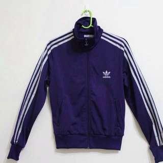 🎈 Adidas 外套 三葉草 奢華紫 修身 全新正品