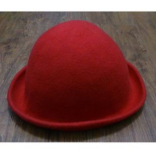 (二手)紅色文青圓帽
