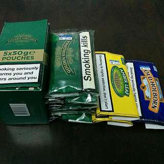 Various Brands Tobacco