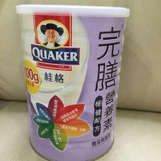 桂格完膳營養素(糖尿病配方)奶粉 900g