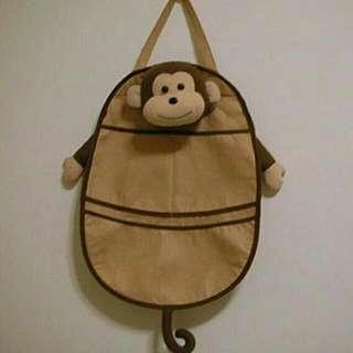 【全新立體可愛猴子造型掛袋】