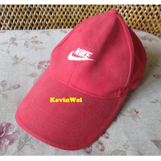 Nike Cap Baseball Red Adjustable rear band condition: 6/10