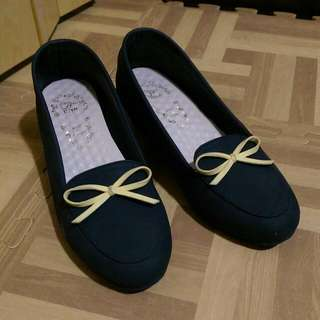 二手,黑色契型鞋,便宜賣