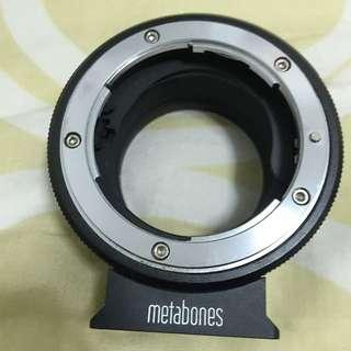 Metabones -Nikon To Sony E-mount