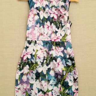 (Reserved) Nichii Floral Printed Dress
