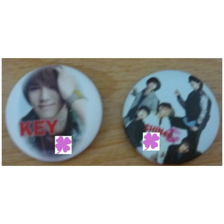 SHINee 徽章 胸章  (泰民 溫流 key 珉豪 鐘鉉 )