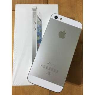 🔷(待匯款)iPhone 5(16g)銀色