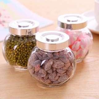 透明玻璃儲存罐 可裝果醬 粉末 食材