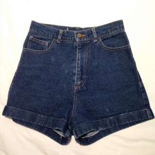 AA Inspired Highwaist Denim Shorts