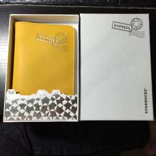 (保留中)星巴克 Starbucks 黃色護照套