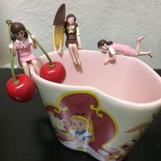 日本扭蛋 杯緣子 櫻桃