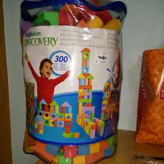 Building Blocks (300 Pieces)