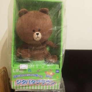 全新含運👉🏻Line熊大跳舞玩偶