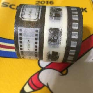相機系列紙膠帶