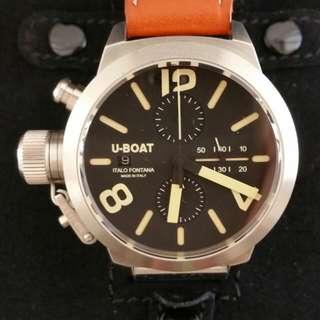 Quick Sales.!!! U-Boat ITALO FONTANA Classico 45mm Unique Left Hand Dial (Limited Production)