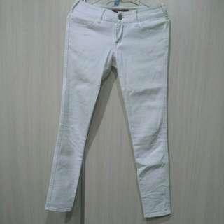 二手someone Jeans白色牛仔緊身褲