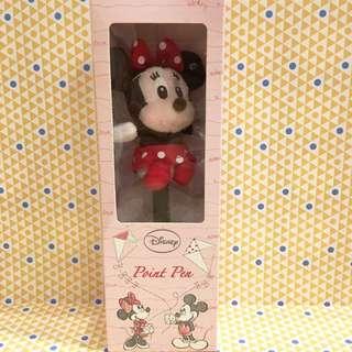 迪士尼Disney 可愛米妮絨毛筆