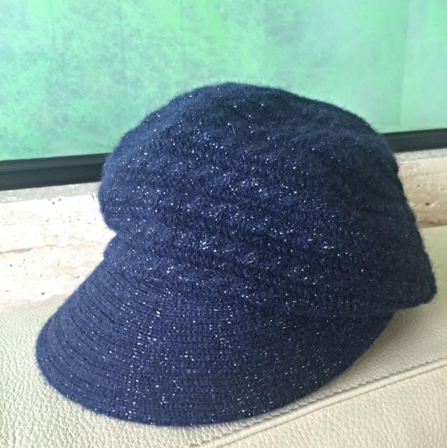 銀座三越羊毛帽