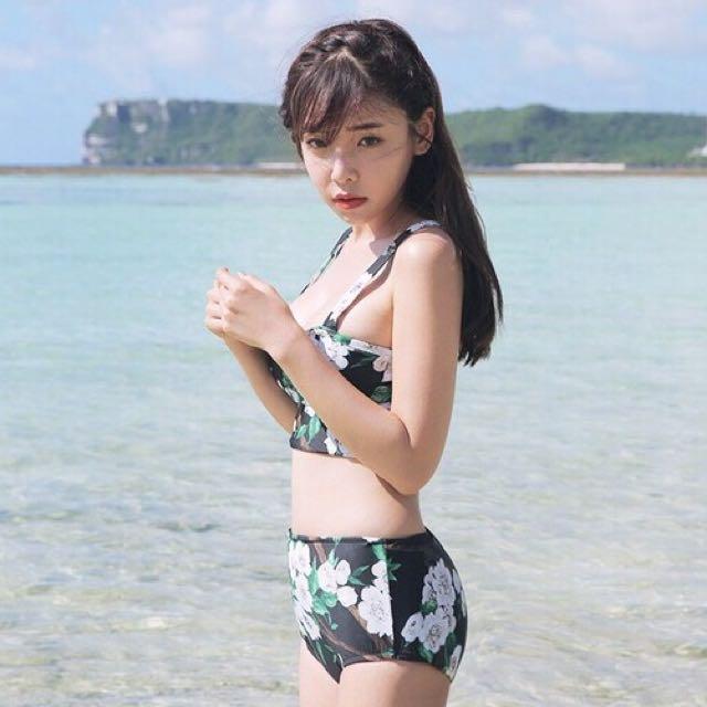 🎉限時優惠🎉韓國吊帶式比基尼泳衣