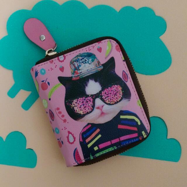 貓咪票卡零錢包
