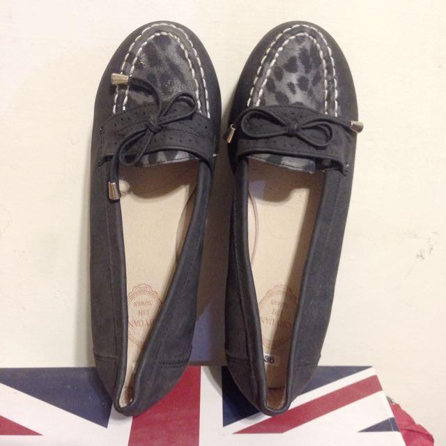 ➕買二送一➕黑色 厚底松糕鞋36