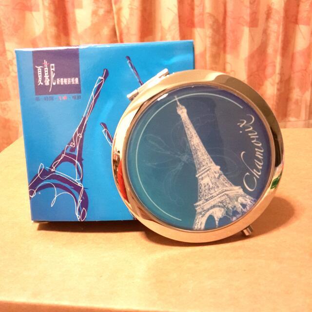 全新 法國香頌隨身鏡 鏡子