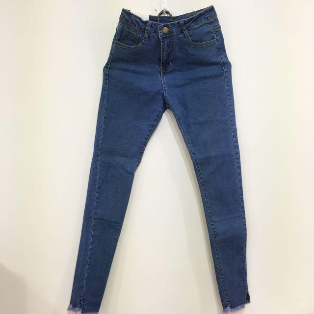 全新 窄版 牛仔褲