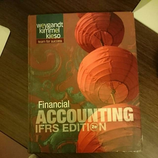 初級會計學(  英文版  ) 致理會計老師特推 Financial ACCOUNTIN IFRS EDITION