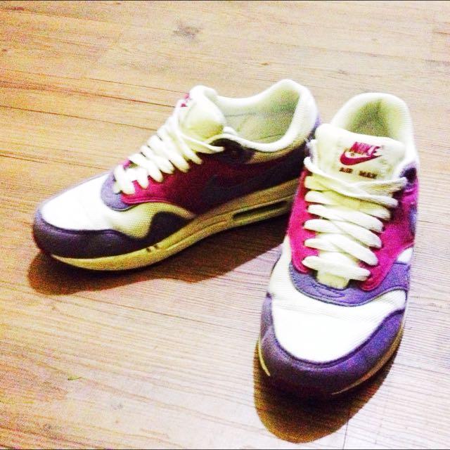 (保留) 粉紫色 NIKE ARE MAX