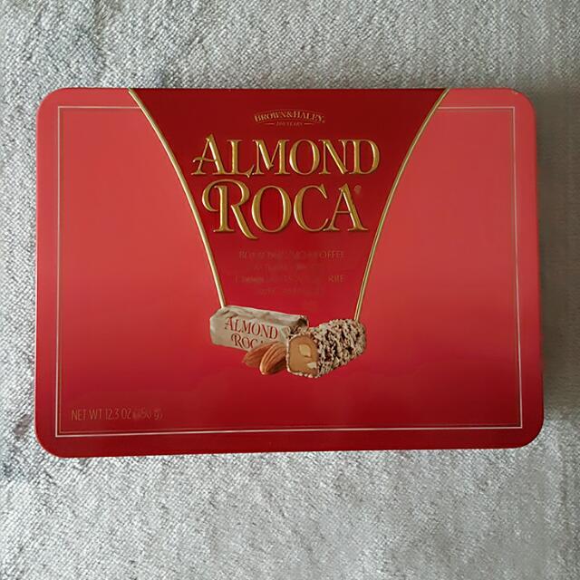 【全新正品ALMOND ROCA巧克力空盒】