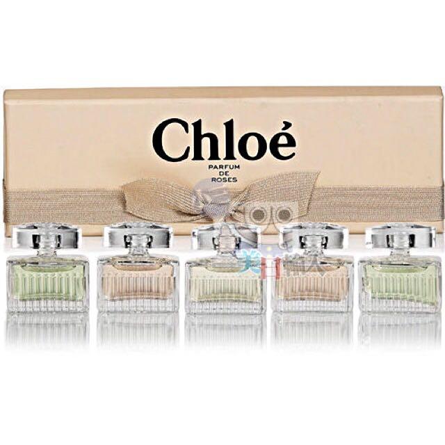 Chloe小香五入組(粉盒)