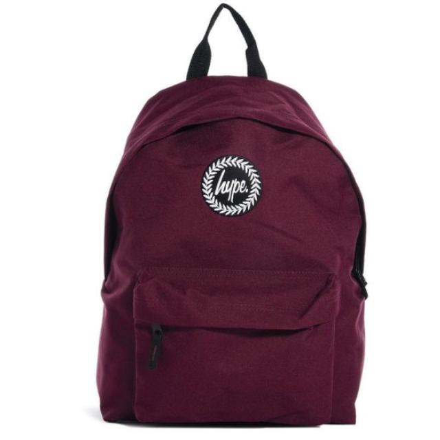 Hype Backpack 酒紅 暗紅色 素色 基本款 後背包 男女款  現貨只有一個