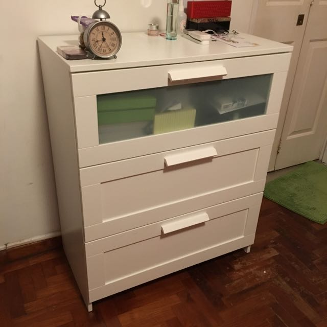 Ikea Brimnes 3 Drawer Chest