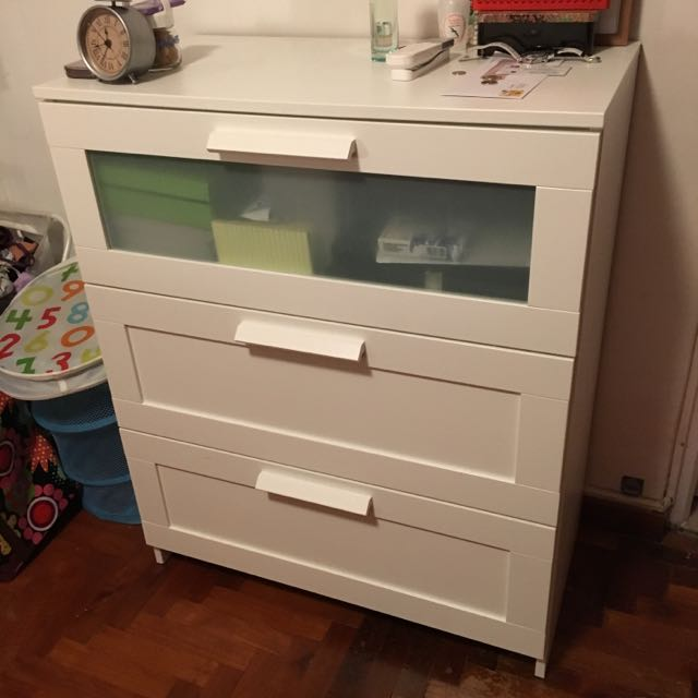 Ikea Brimnes Chest Of  Drawers Home Furniture On Carou