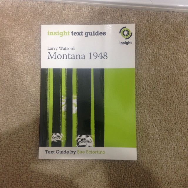 Montana 1948 Insight text guides
