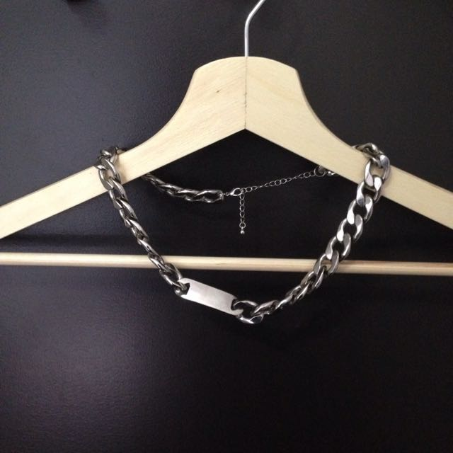 Silver Edgy Chain