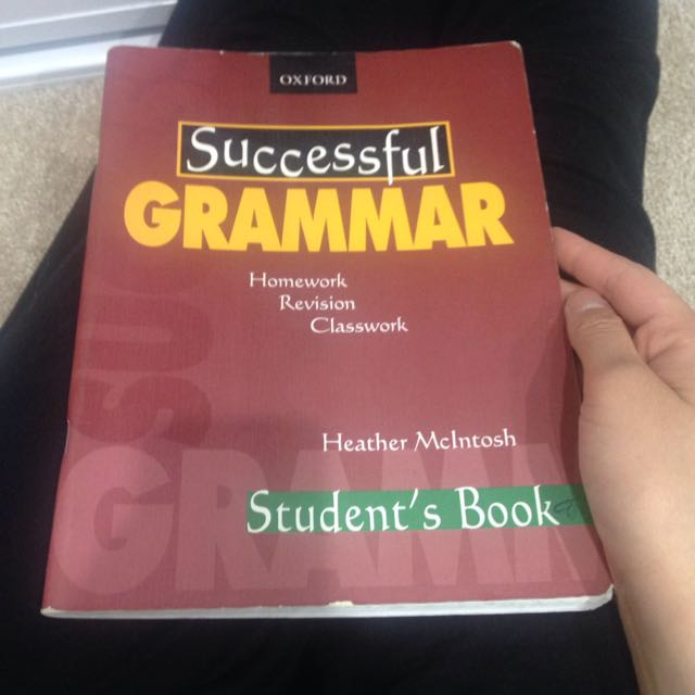 Successful grammar oxford student's book