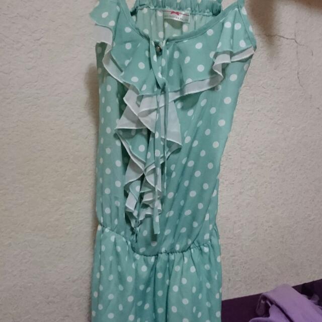 Tiffany 綠點點洋裝