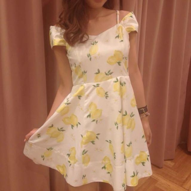 Titty&co 水果夏日修身洋裝連身裙