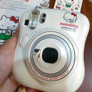 富士 FUJIFILM Instax mini25 Hello Kitty 拍立得