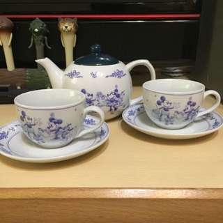 米奇茶壺組