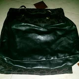 Reduced.. Authentic Black Gucci Shoulder Bag