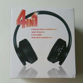 4in1 Bluetooth Headphone