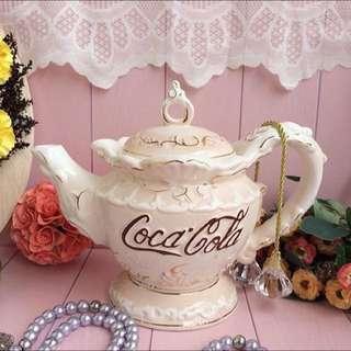 Coca Cola Victorian Teapot