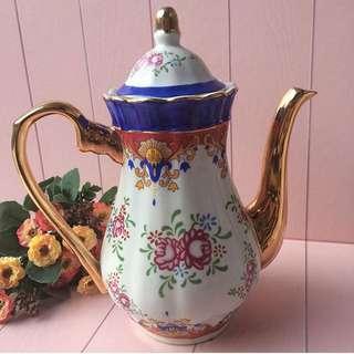 Cobalt Blue Teapot