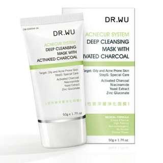 ♥ Dr. Wu 活性碳深層淨化面膜(50g)