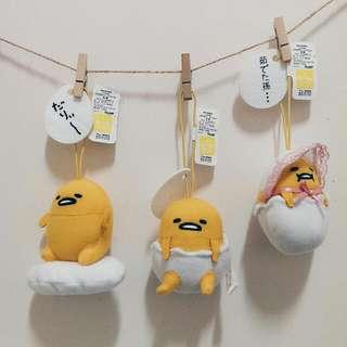 [現貨]蛋黃哥 日貨 填充吊飾
