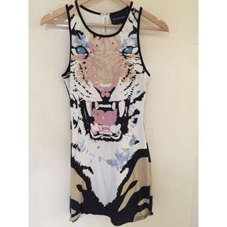 Mink Pink Dress Size M Worn Only Once