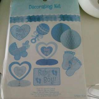 Baby Shower Decorating Kit For Baby Boy